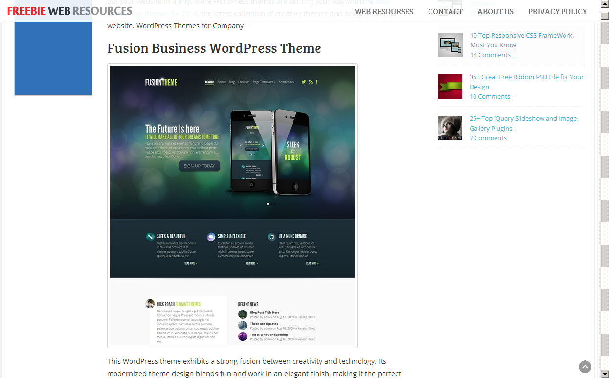 60+ Best WordPress Themes 2013 Edition - Great Collection!