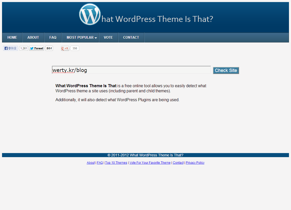 What WordPress Theme